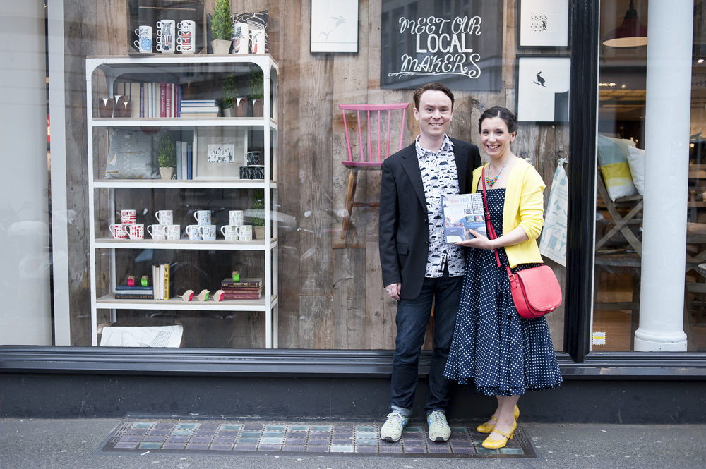 Emily Quinton Maker Spaces Book Launch | Image by Rebecca Louise