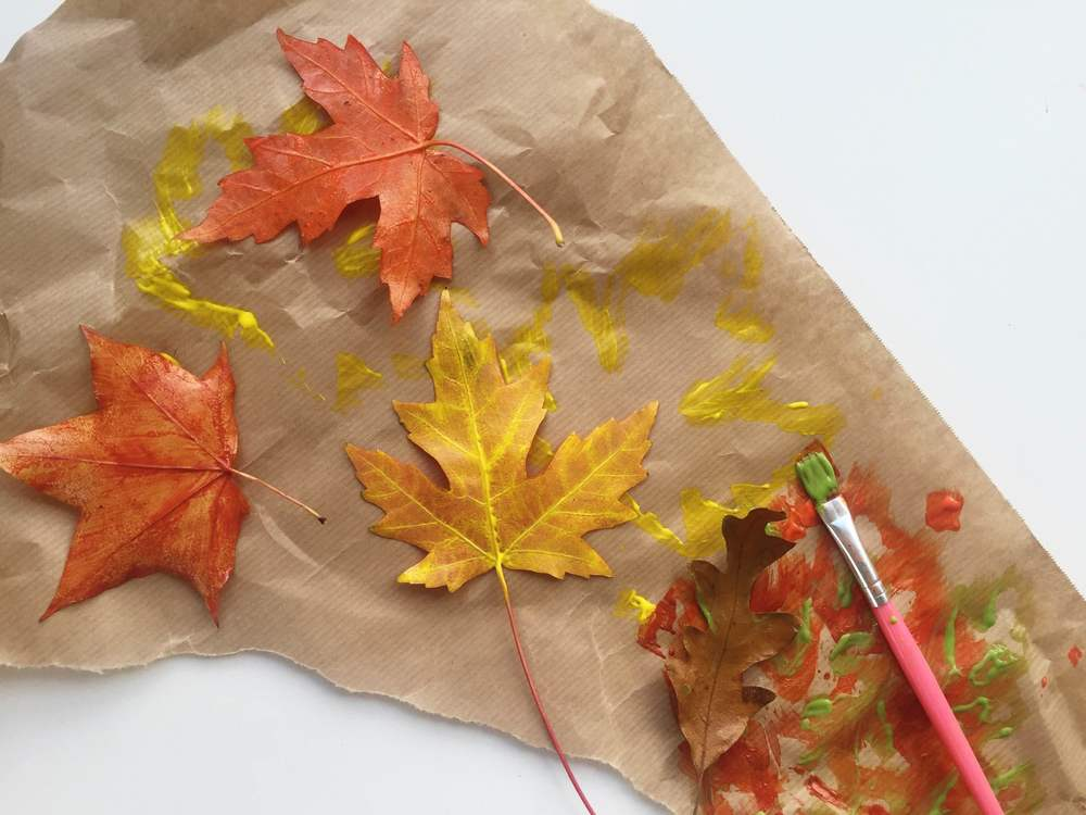 Printing with Fallen Leaves | Makelight