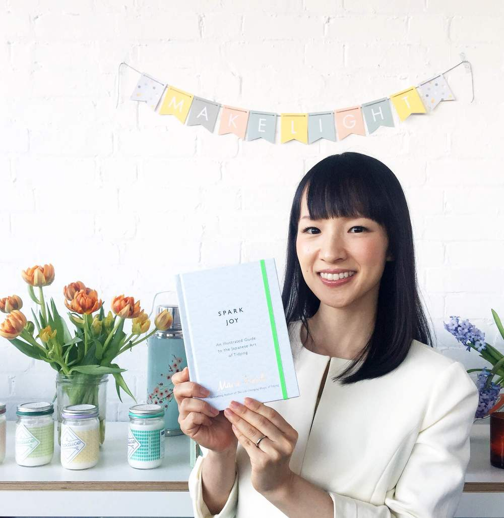 Marie Kondo at Makeight