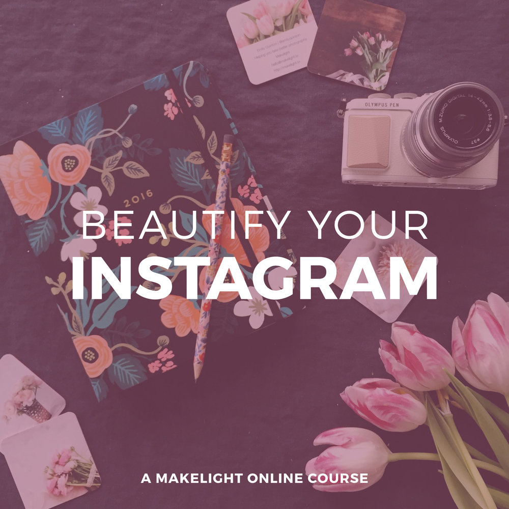 If you'd like to improve how you take images for Instagram, this is an inspiring two week experience and our most popular online course! Starts 13th June.