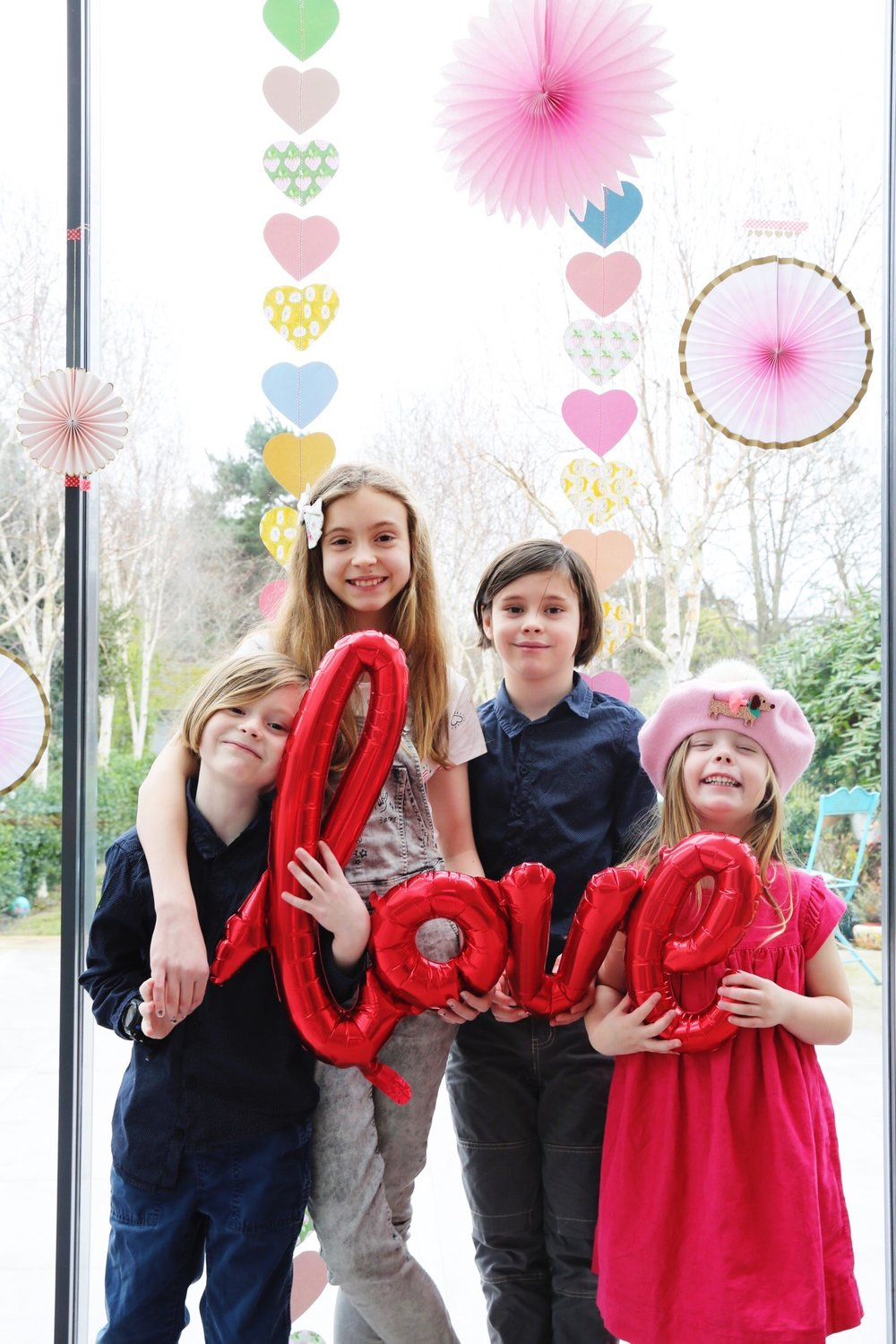 Valentine Tea : The Quinskis