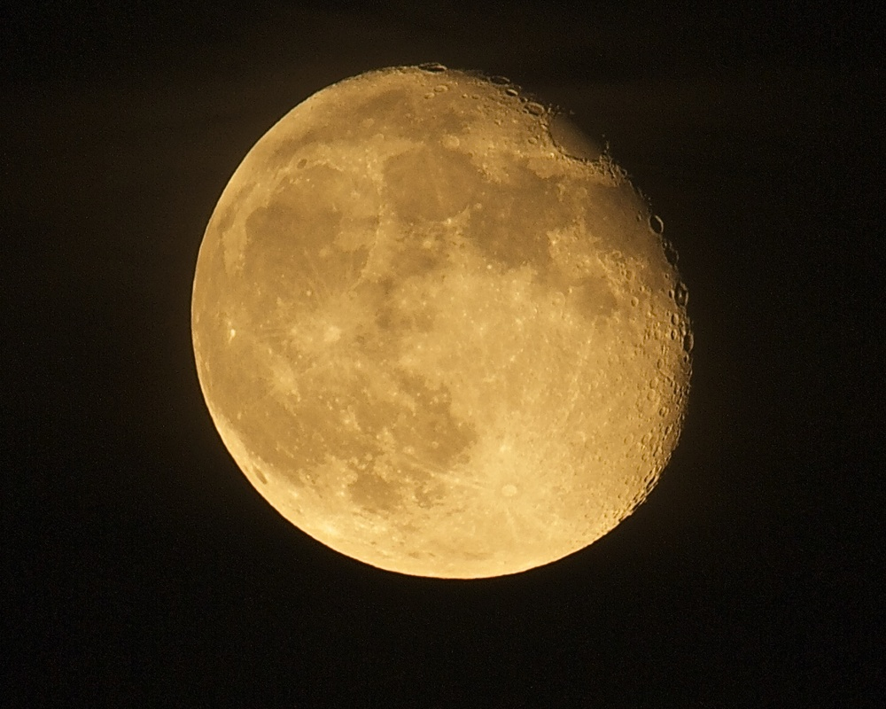 "Waning Gibbous ""Super"" Moon 12 Aug 2014"