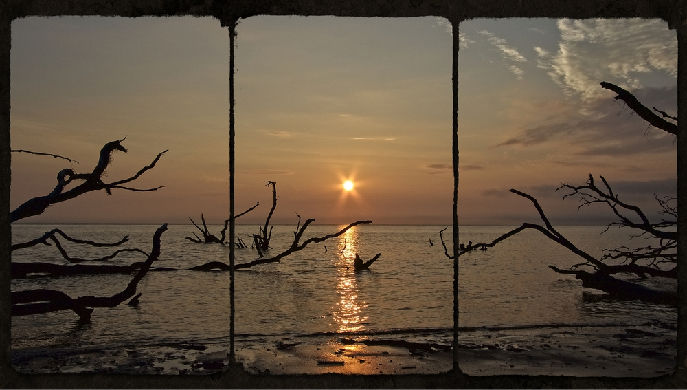 You only get a small momentin time to catch the sunrise...Got it..Black Rock Beach sunrise triptych...Follow the sun...