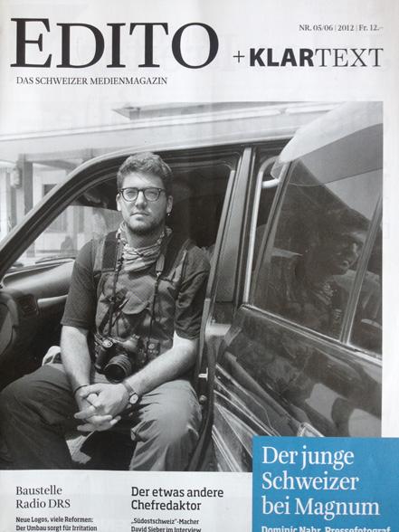 EDITO Cover story 2012