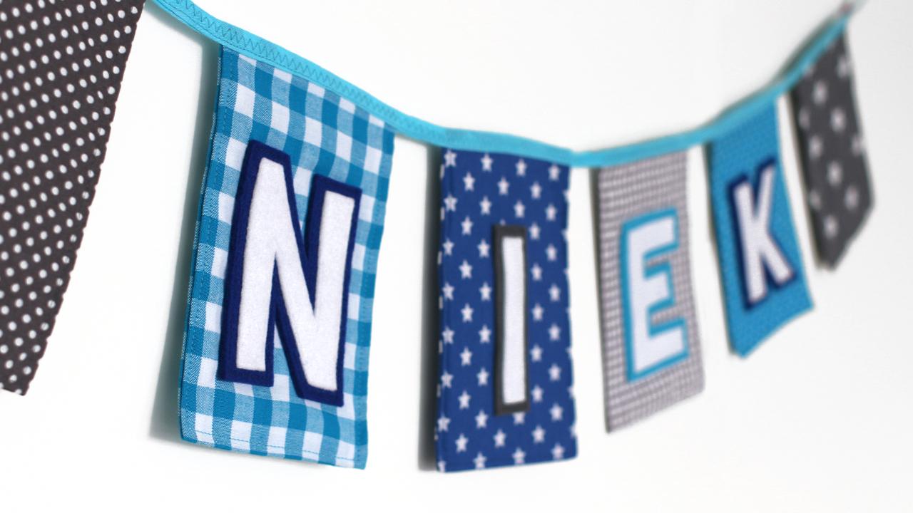 Geliefde Vlaggenlijn Niek — Tante Eef #WE33
