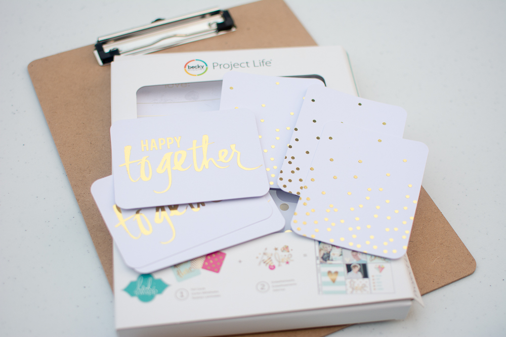 Heidi Swapp Edition of Becky Higgins Project Life - Foil Value Kit