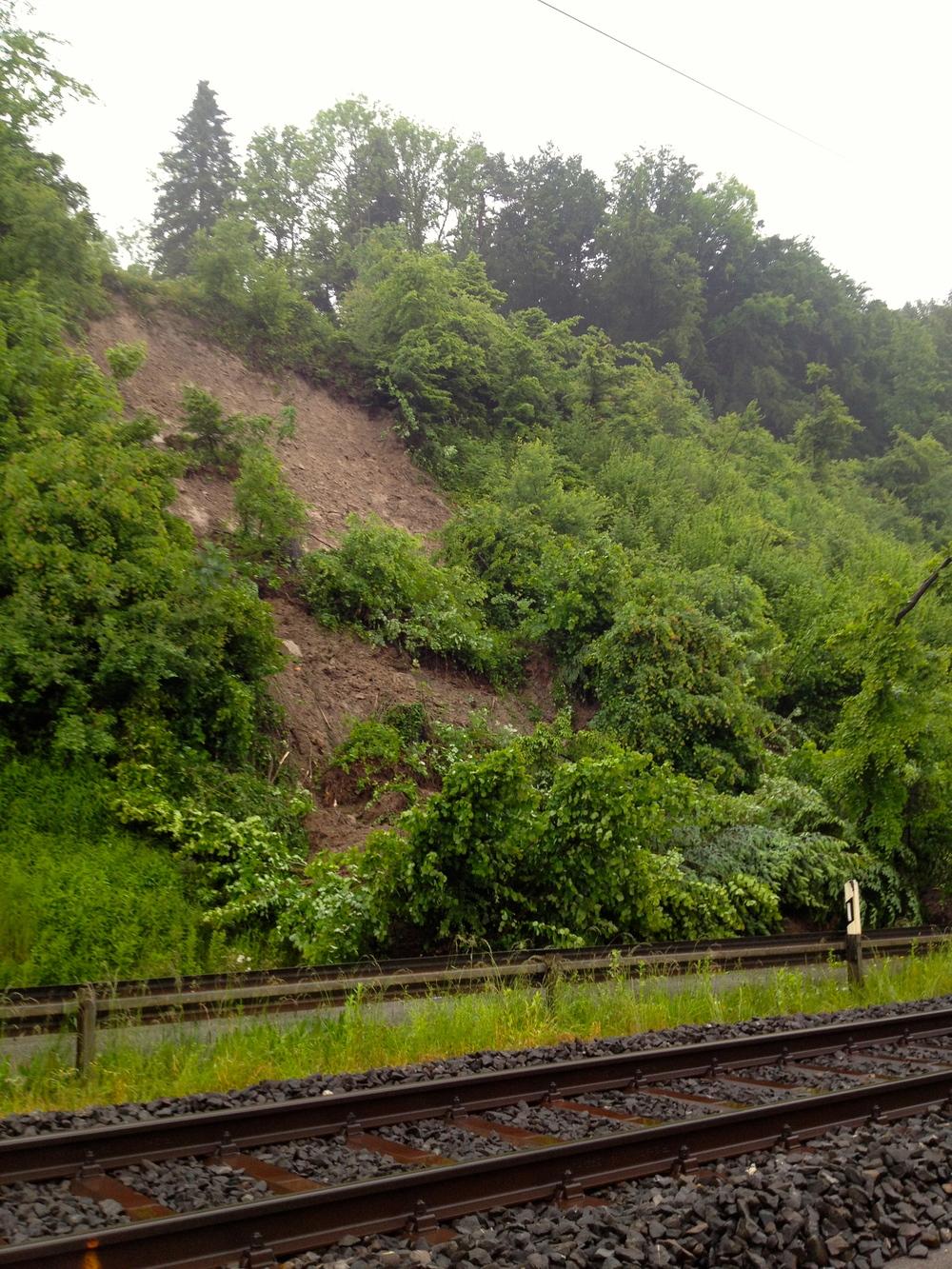 ironman swizterland tree landslide