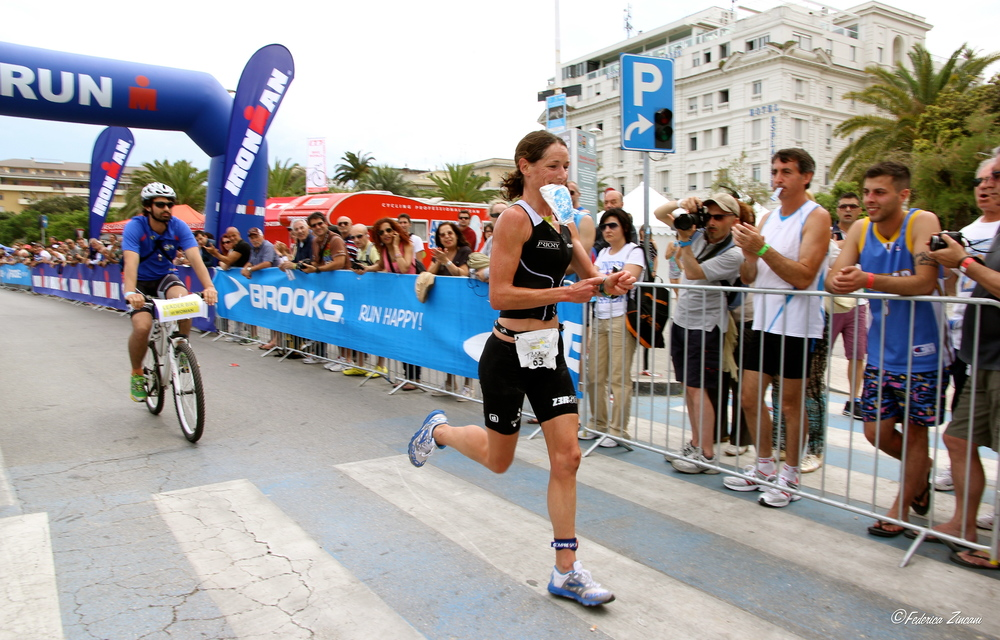 tamsin lewis run ironman win