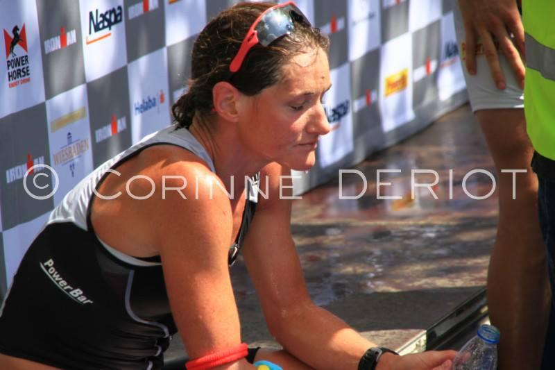 Tamsin Lewis race triathlon