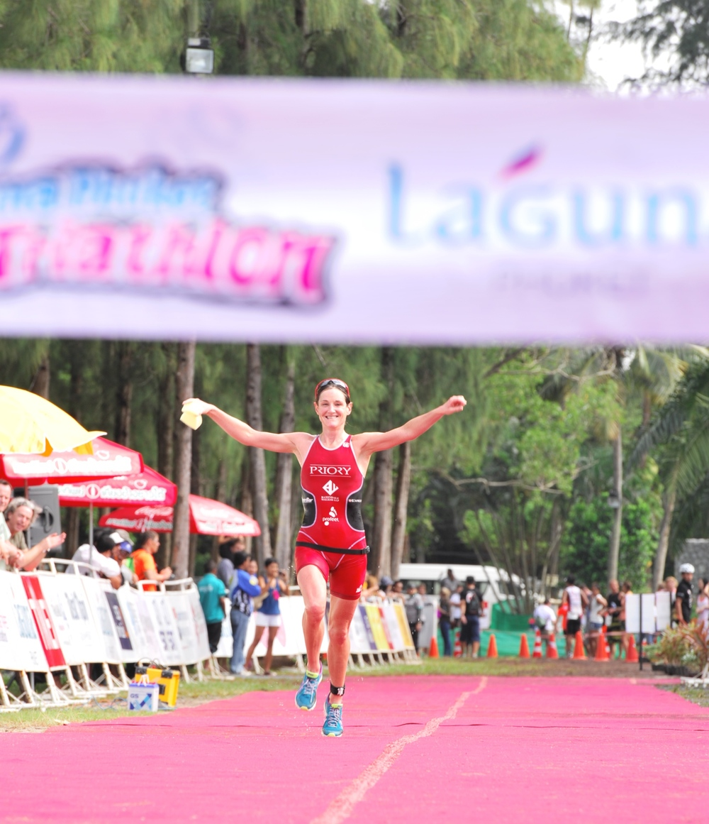 Tamsin Lewis triathlon
