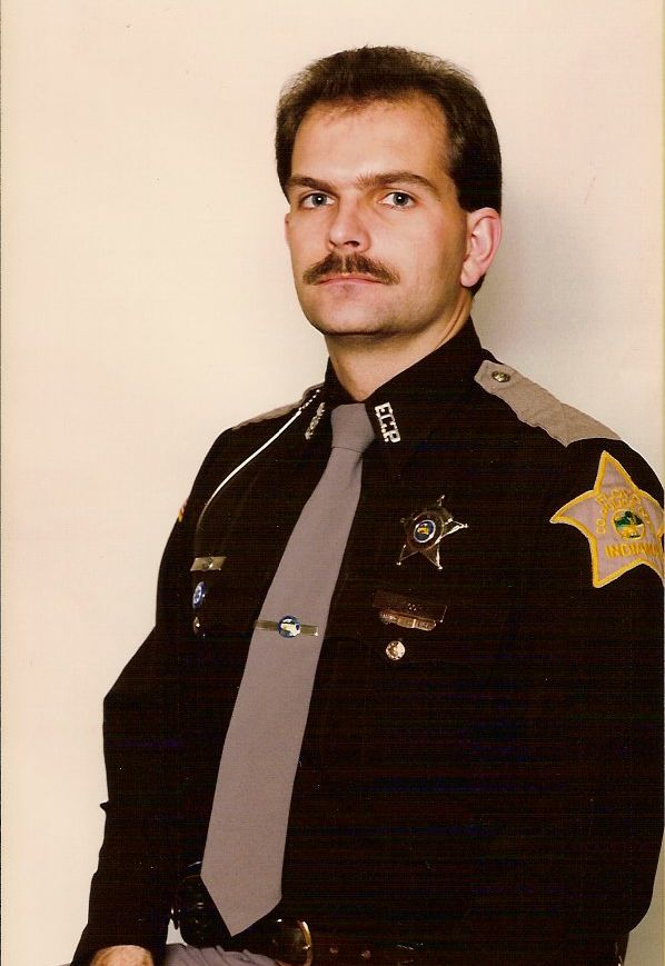 Frank - early in his career with the Sheriff's Department.