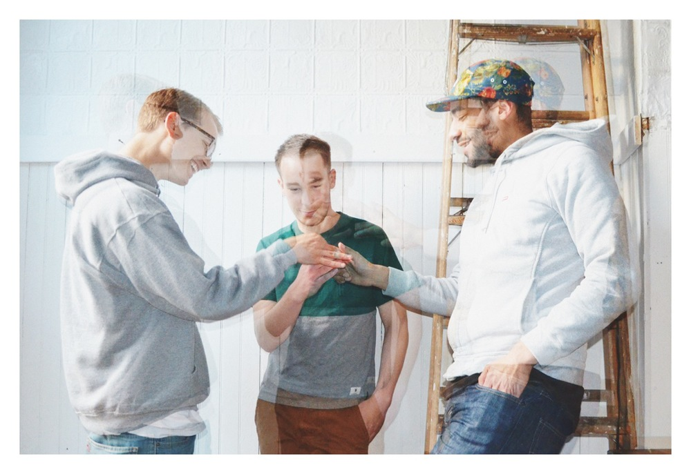 eSGi: Dj Goulet, Dj Thaddeus Jeffries and Guarionex   photo by Amanda Maciel Antunes