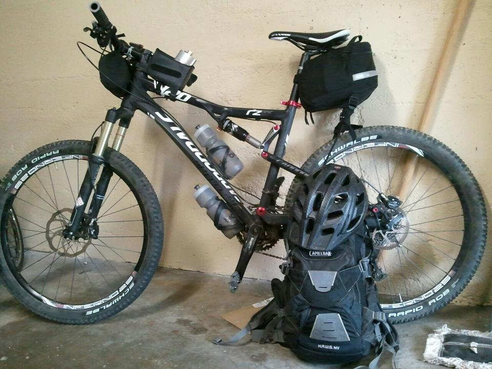 My rig ready for mt hood huts!