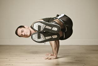 Michael DeCorte, Founder of Jock Yoga.