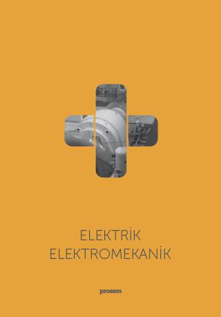 Prosem Elektromekanik Broşürü