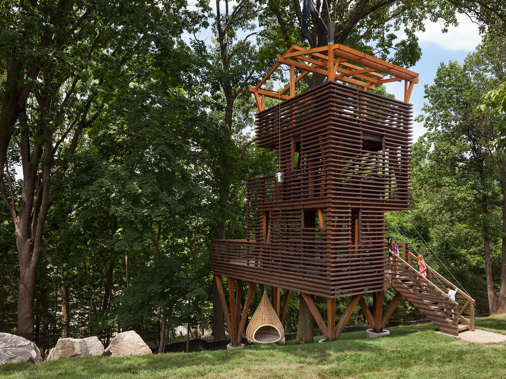 Nick Adam's $100,000 Treehouse