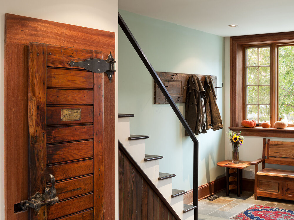 Complete Home Renovation with Architectural Salvage