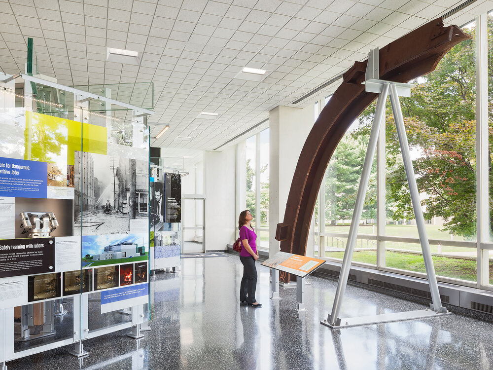 National Institute of Standards and Technology Lobby Exhibits