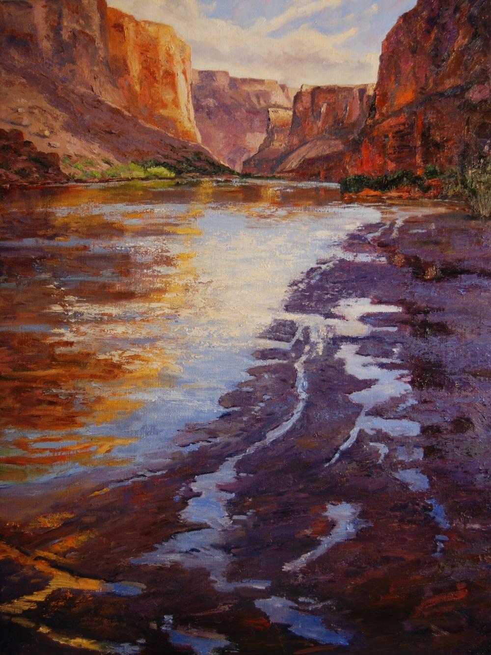 Marble Canyon Shadows