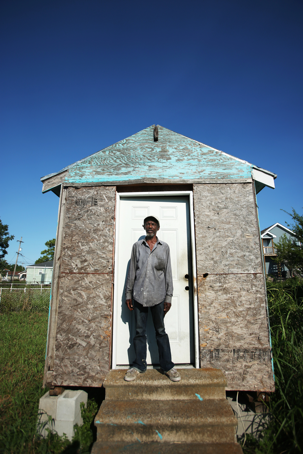 Ronnie Brown  Lower Ninth Ward  New Orleans, Louisiana  August 2015