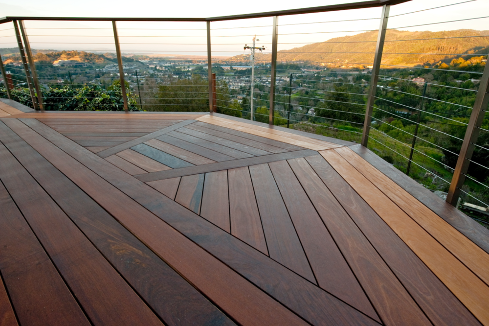 "AJD Builders wins 2012 ""Deck of the Year"" award (San Rafael, CA) —  click to enlarge"