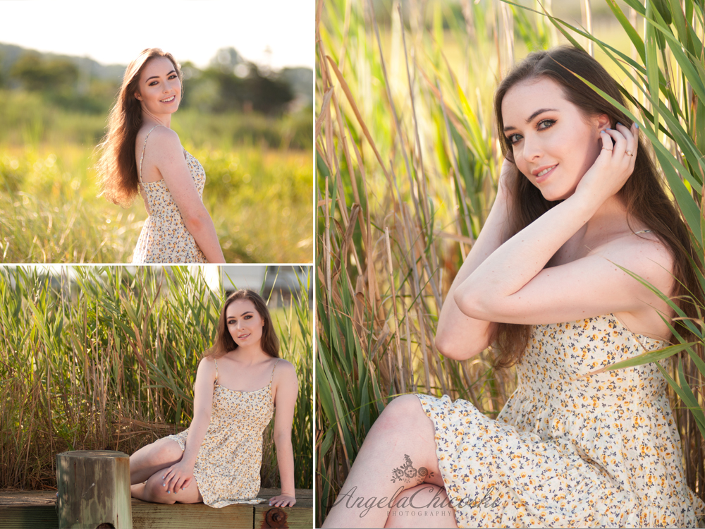 Old Saybrook Senior Portraits CT
