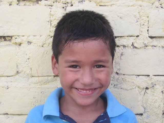 Jhon...twin brother to Jhael and older brother to Jhackeysi...7 years old.