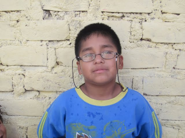 Lucho...8 years old...super smart. Has lived in the orphanage for 6 years.
