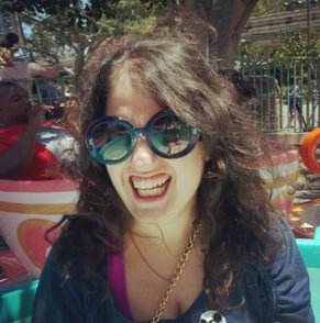 Photo courtesy of Eleanor Morrison. Unabashed joy courtesy of Disneyland.