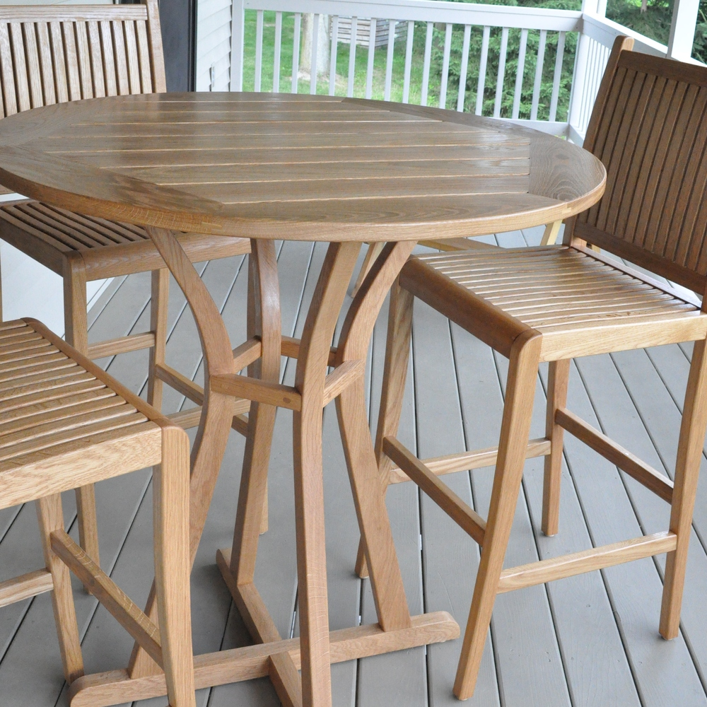 Copy of White Oak Patio Set