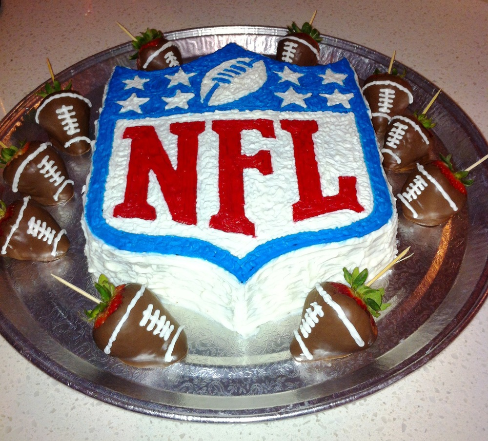 Football Team Birthday Cakes
