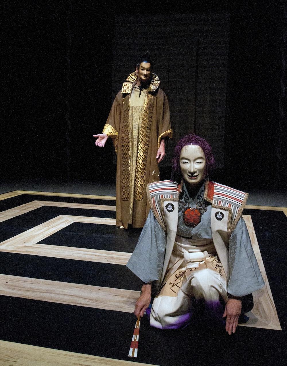 The Yayoi Theatre Movement Society, photo by Yukiko Onley