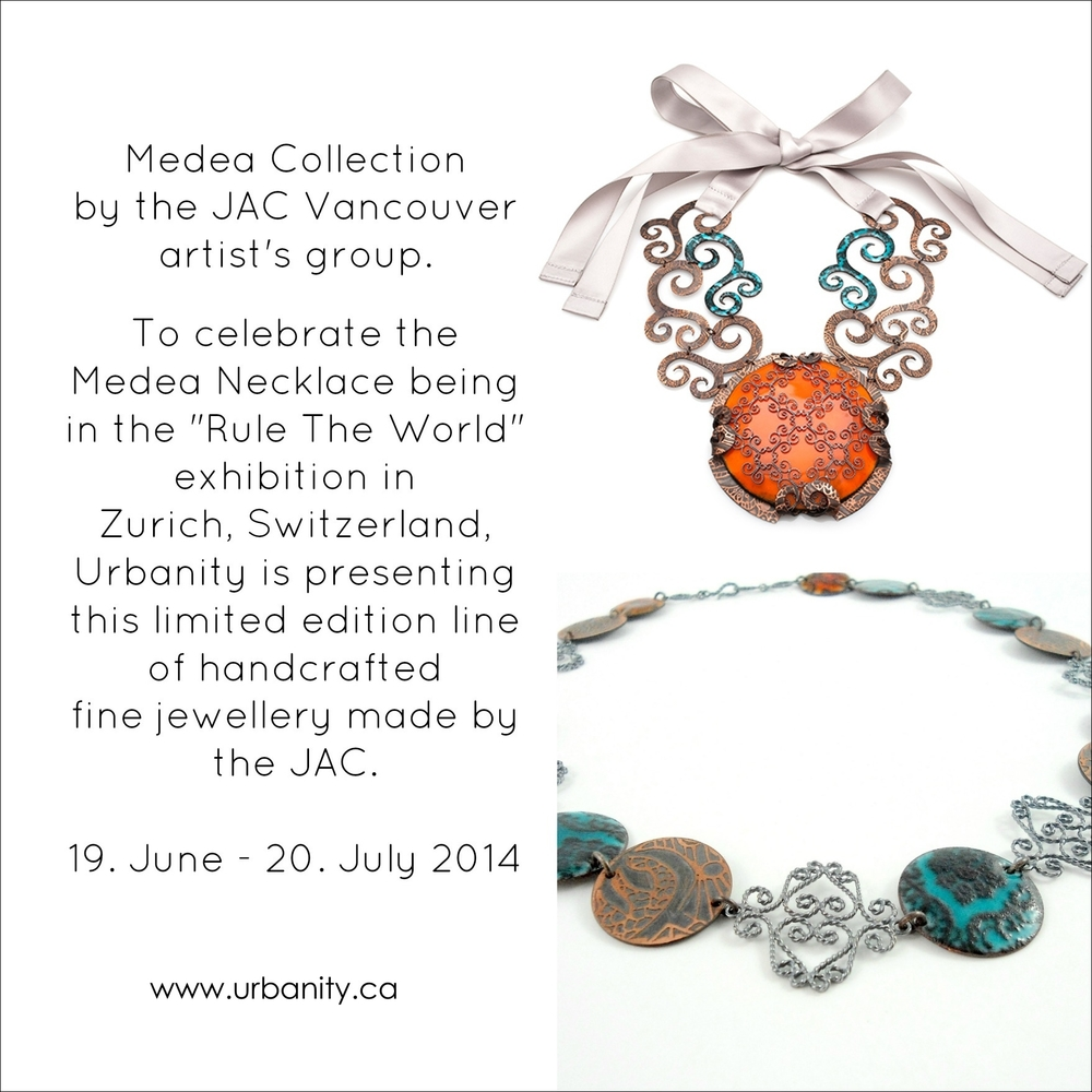 medea necklace jewellery