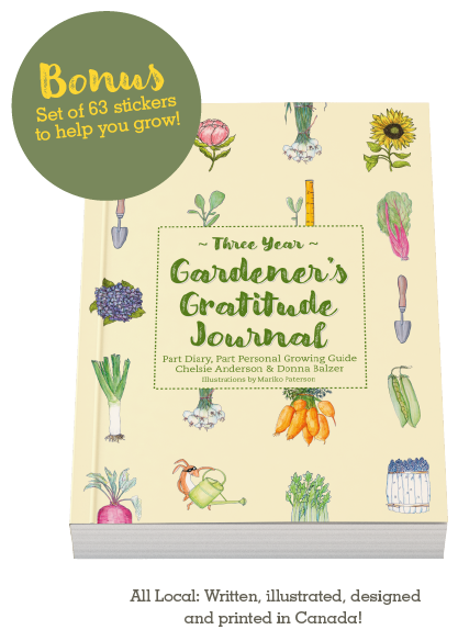 Gardener's Gratitude Journal from Donna Balzer