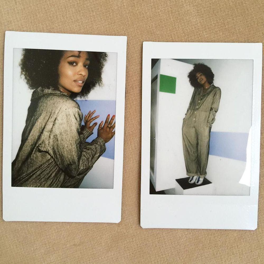 Kayla & khajuri hand-embroidered 'fishtail' jumpsuit