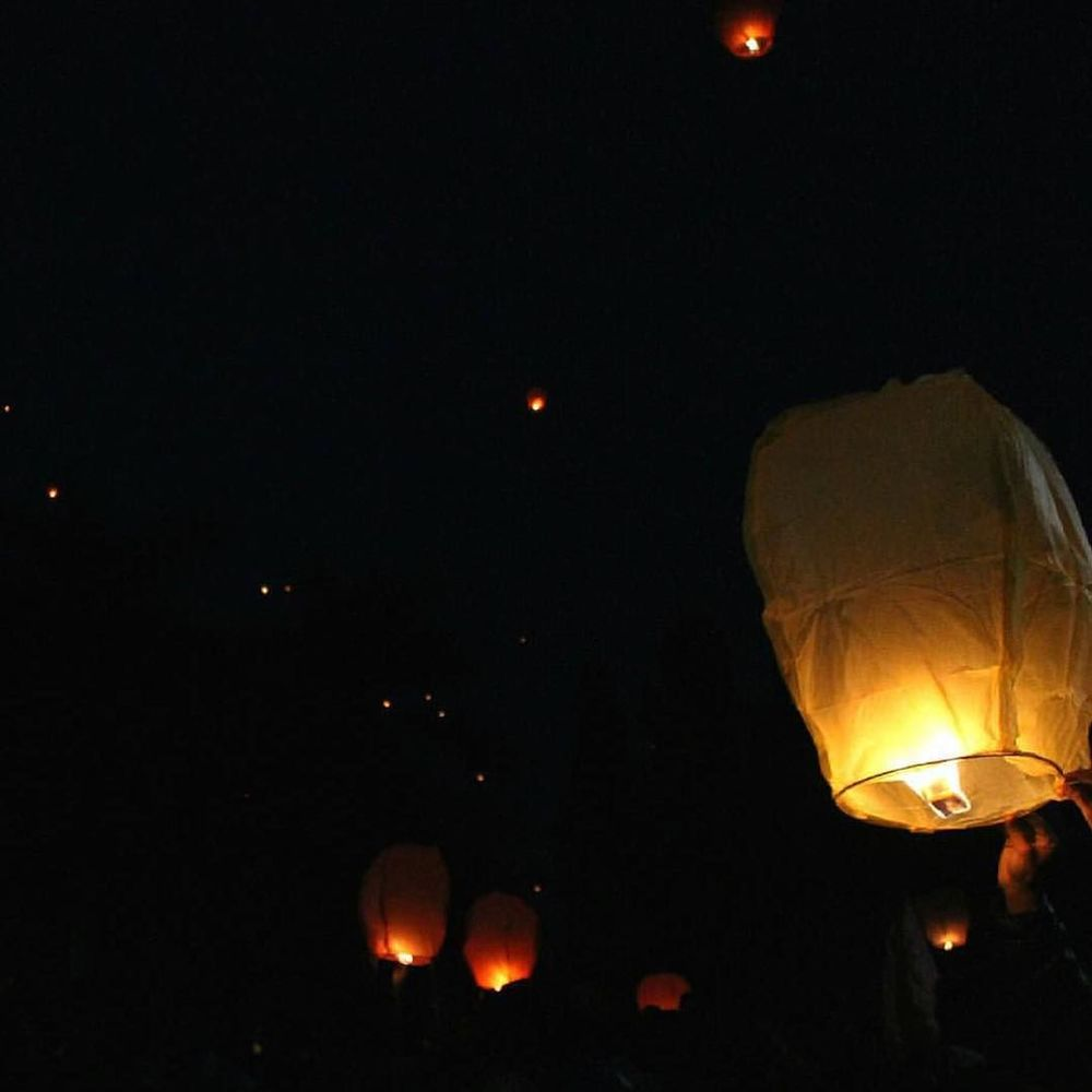 Diwali lanterns in Ahmedabad tonight