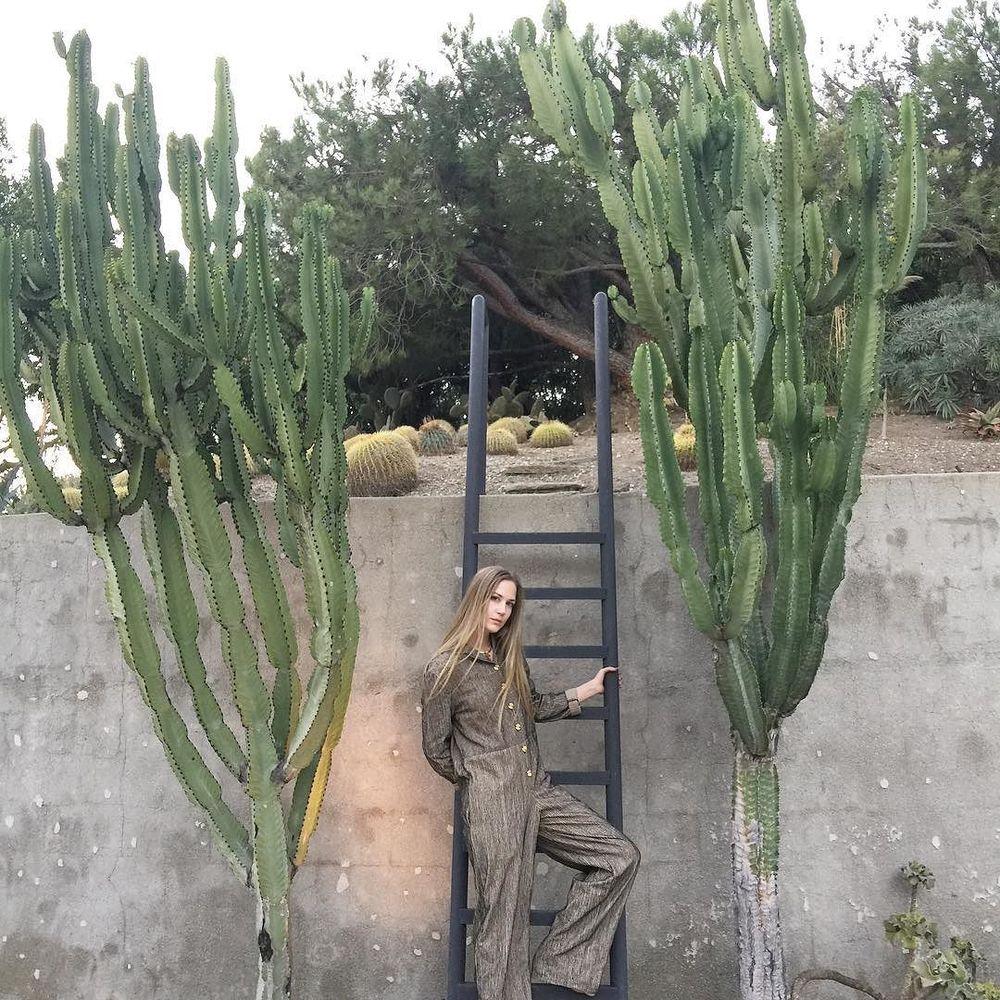 khajuri jumpsuit in Lautner cactus garden