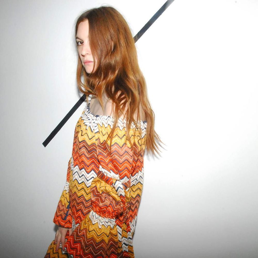 fully hand-embroidered sikal-stitch zig zag dress // made in Ahmedabad, sewn in Los Angeles // cistanthe.com