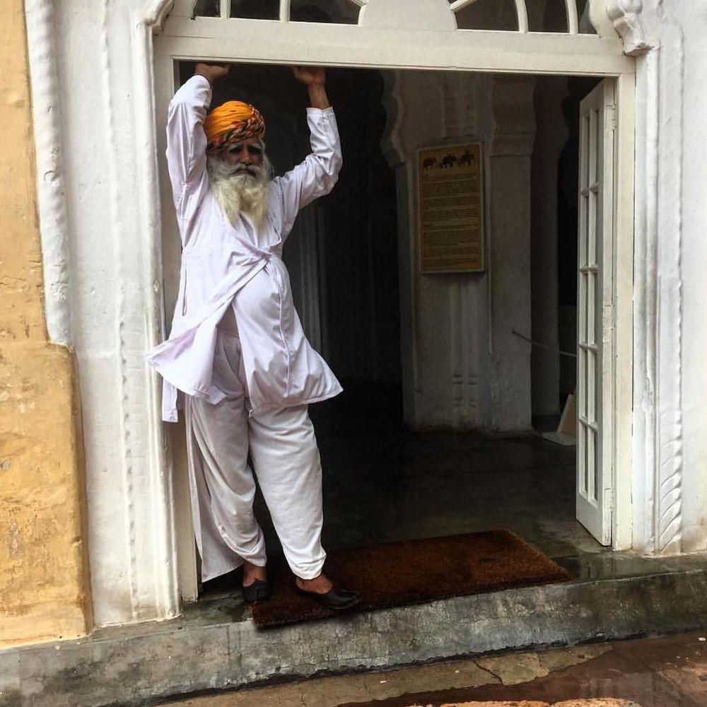 white & golden yellows in Jodhpur