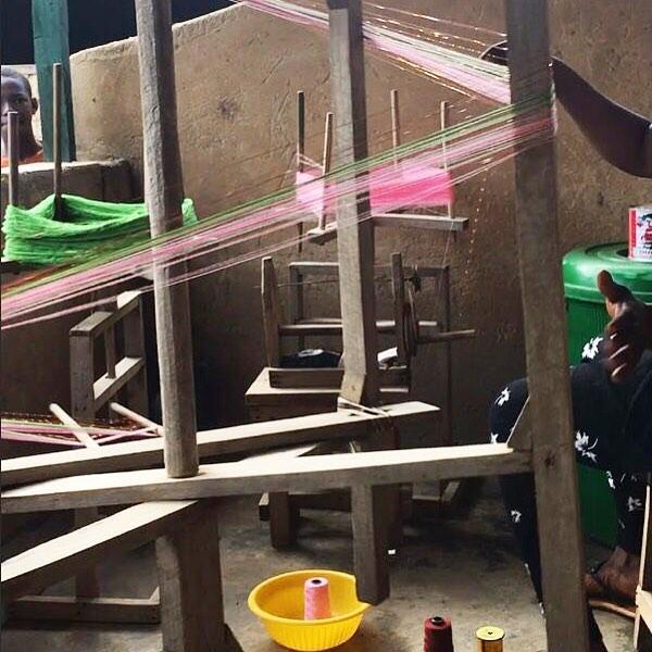 Lee sampling in Ghana ✨💫