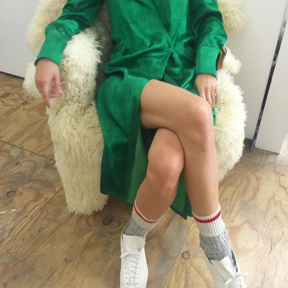 emerald green mashroo robe dress #cistantheshop
