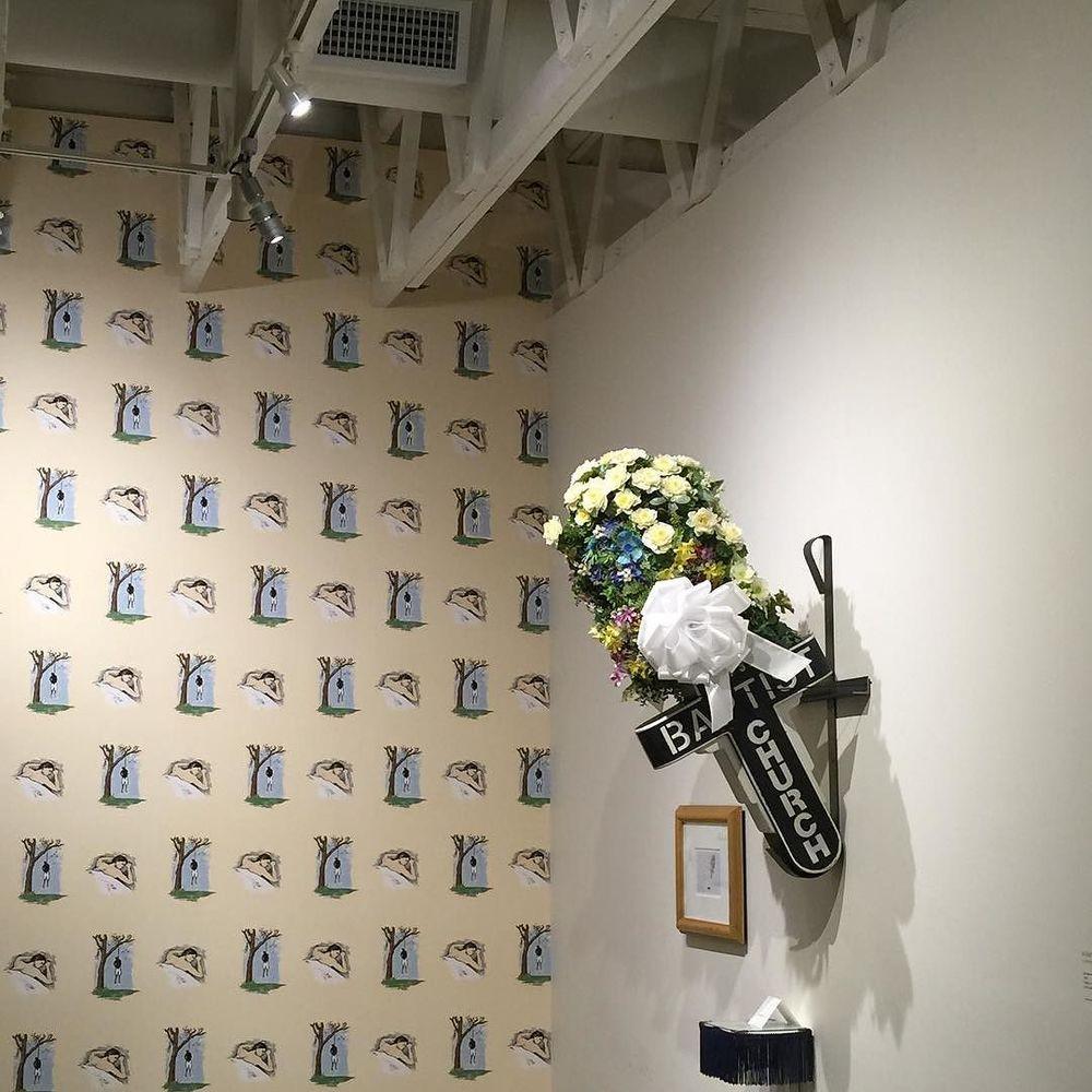 Robert Gober + Kerry James Marshall at @theundergroundmuseum tonight