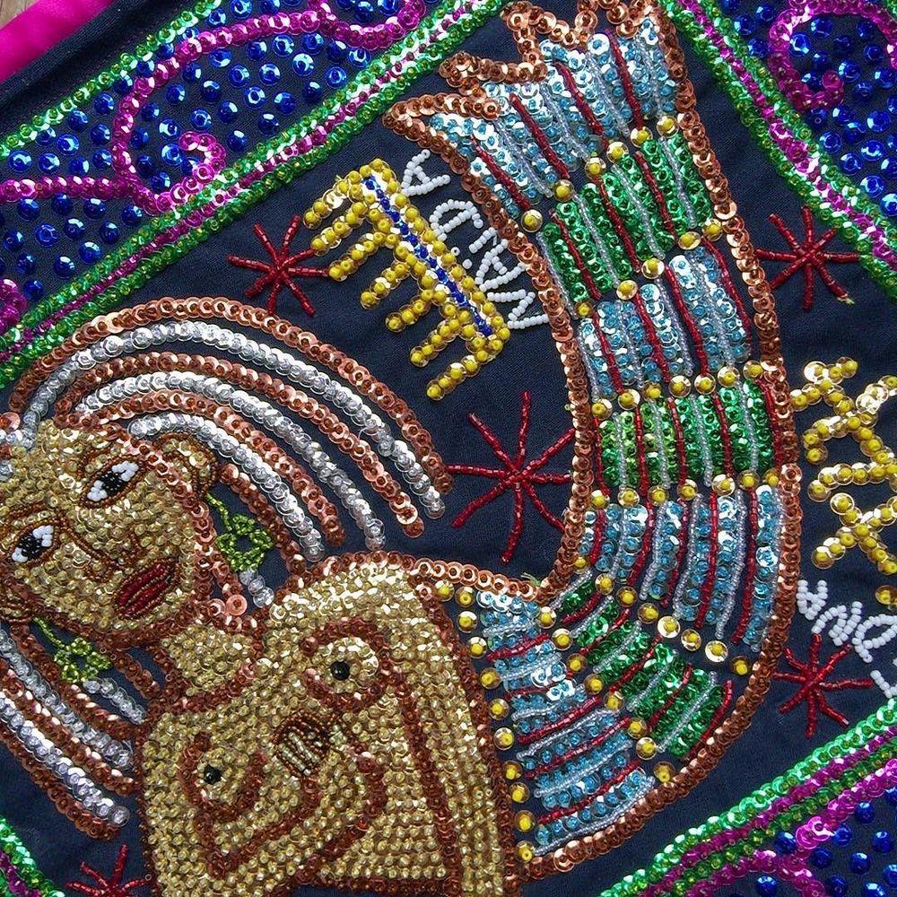 beautiful sequin drapo from Matènwa