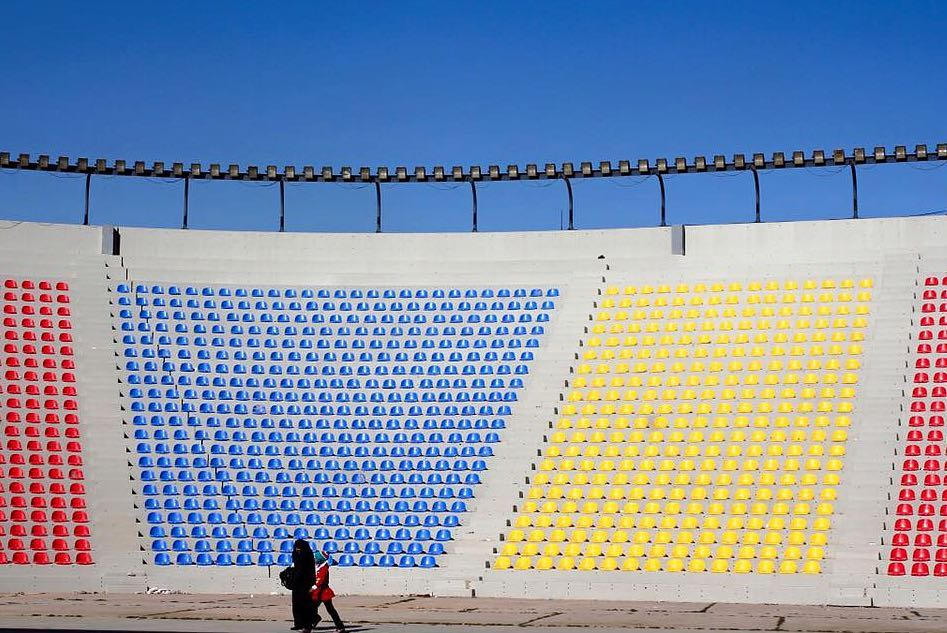 Olympic Stadium in Baghdad by Le Corbusier