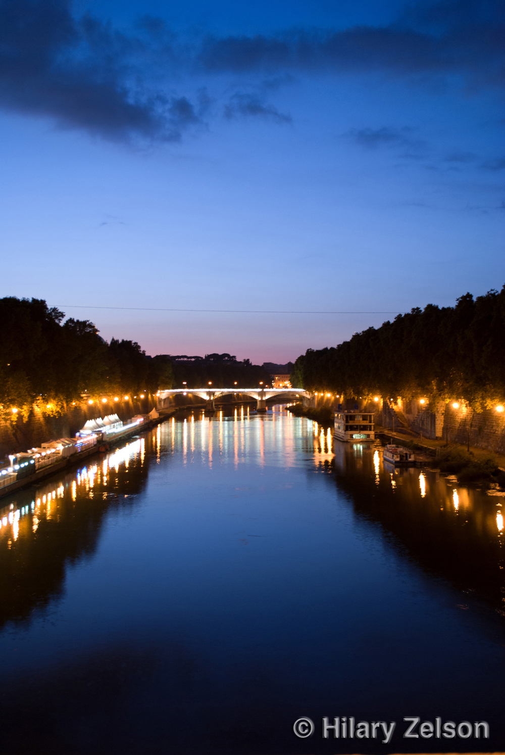 Commotion Along the Tiber