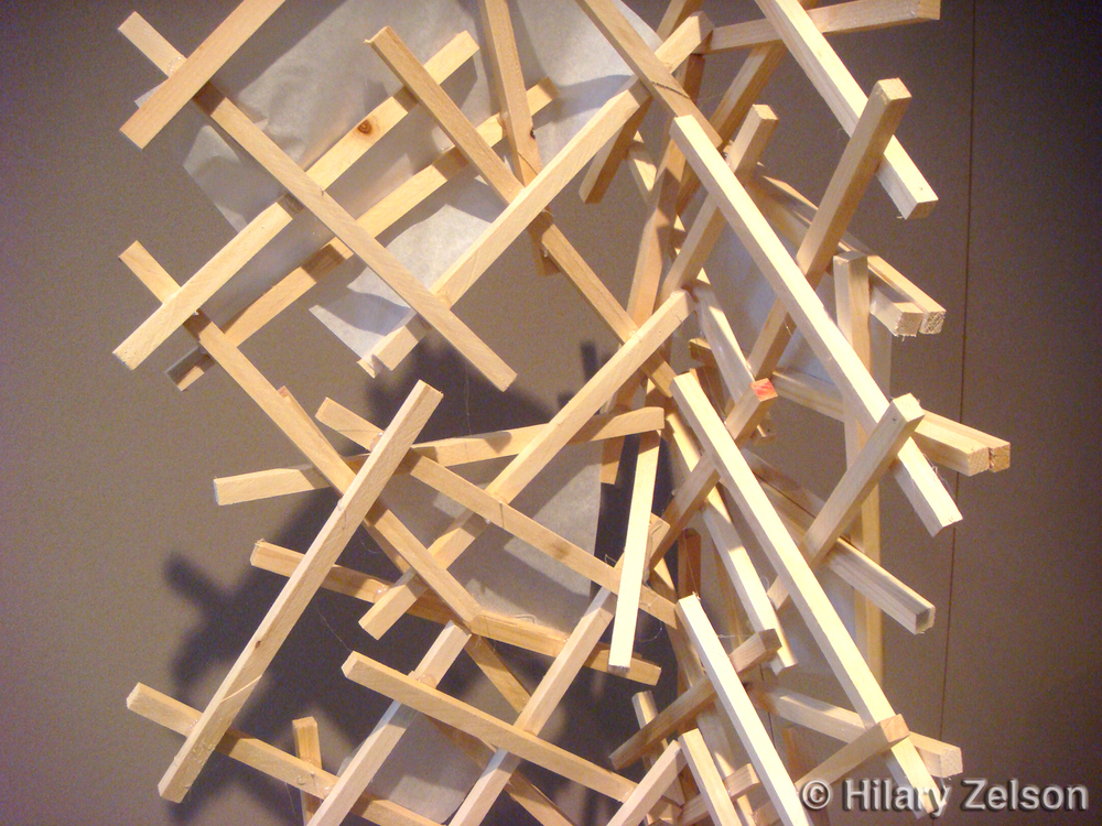 Counted Sticks (close up)