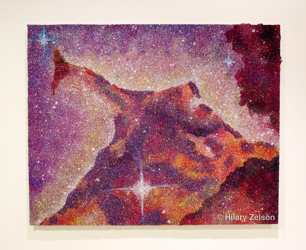 Ear of the Eagle Nebula