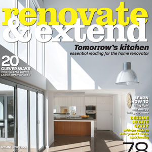 Chatswood House, Renovate and Extend magazine