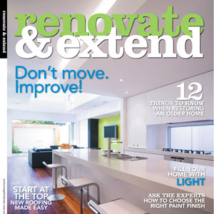 North Sydney House, Renovate and Extend magazine