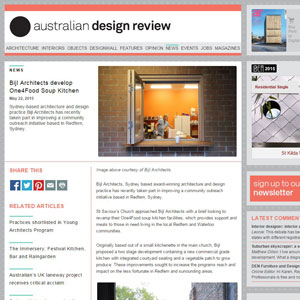 One4Food Soup Kitchen, australiandesignreview.com